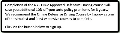 New York Online Defensive Driving - Enroll Today!